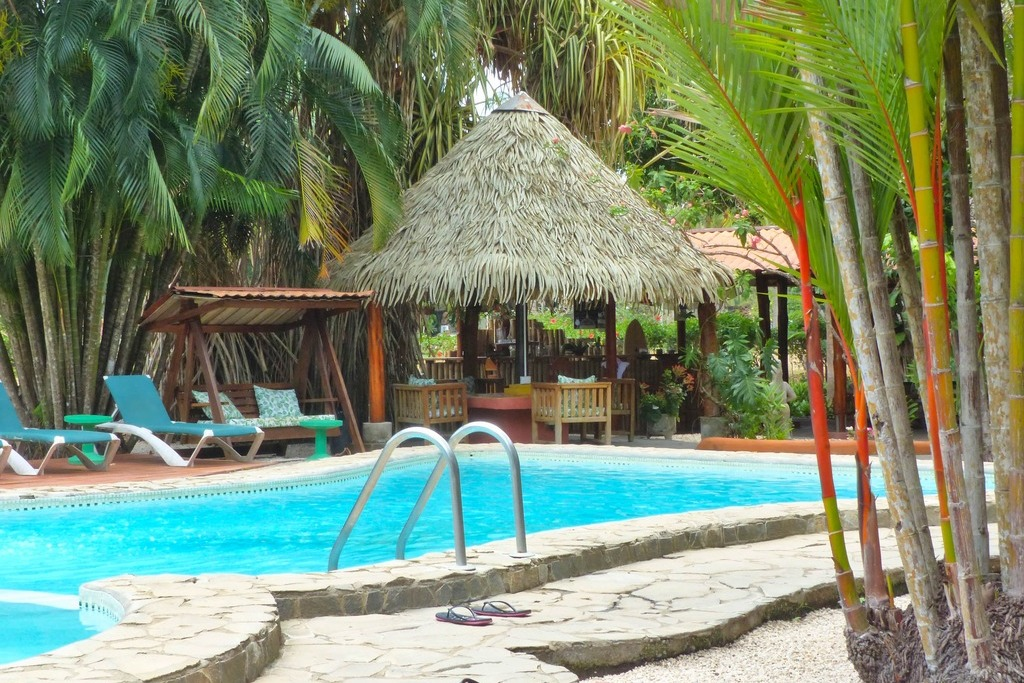 Hotel-flying-crocodile-costa-rica-piscine-bar